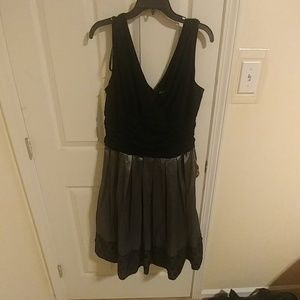 Black and Grey Formal Dress